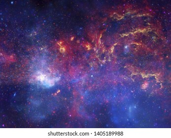 The Amazing space Arts of universe
