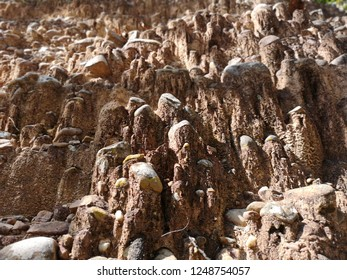 Amazing stones background, detail and closeup