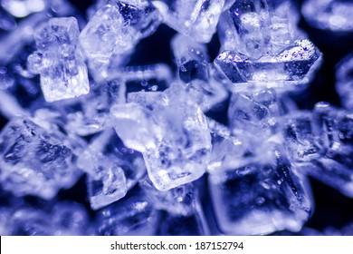 amazing sugar crystals under the microscope