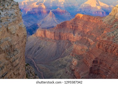 Amazing Sunrise Image of the Grand Canyon taken from Hermest Trail