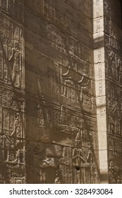 The amazing Temple of Isis from Philae island in Lake Nasser, Aswan, Egypt