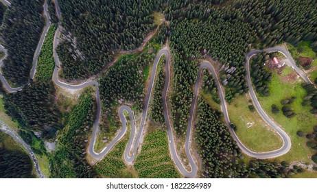 Amazing Transalpina road in Romania  - Shutterstock ID 1822284989