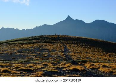 Amazing trekking area in Japanese North Alps. Mt.Yari