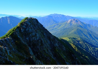 Amazing trekking area in Japanese North Alps.