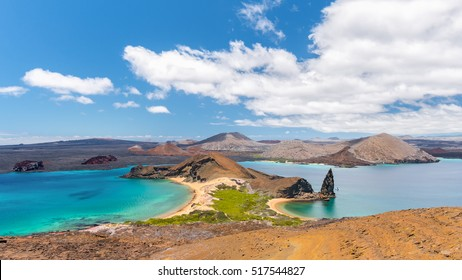 Amazing view in Bartolome Island, Galapagos Islands, Ecuador