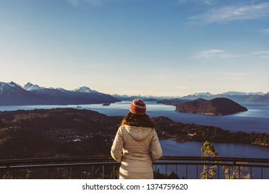 Amazing view from Campanario hill, Bariloche, Argentina.
