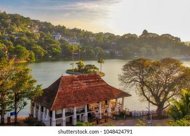 Amazing view of Kandy city