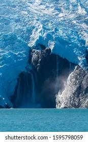 Amazing view of Kenai fjords national park, Alaska