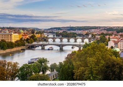 Amazing view from Letna hill in Prague - Shutterstock ID 2028079475
