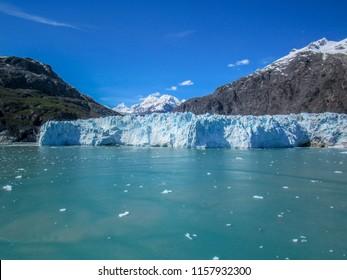 Amazing View of Margerie Glacier in Glacier Bay, Alaska