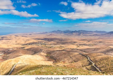 Amazing View From Mirador Morro Velosa - Fuerteventura, Canary Islands, Spain