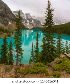Amazing view of Moraine lake, Banff national park, Canada