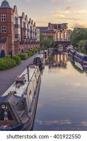 An amazing view on the canals in Birmingham