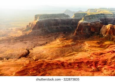 Amazing view on the Grand Canyon, Arizona, USA