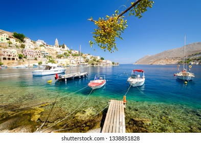 amazing view on Symi island, Dodecanese, Greece