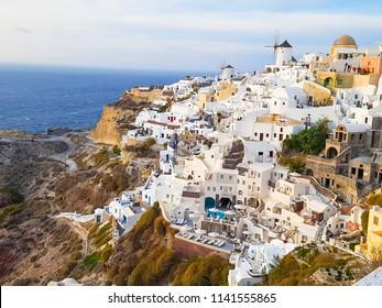 Amazing views of Oia, Greece