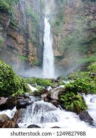 amazing of waterfall