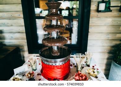 Amazing wedding candy bar