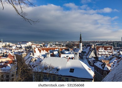 An amazing winter day eve Christmas in Tallinn - Estonia