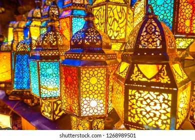 Amazingly beautiful light of Arabian lamps is the thing, that will be remembered for a lifetime, Cairo, Egypt