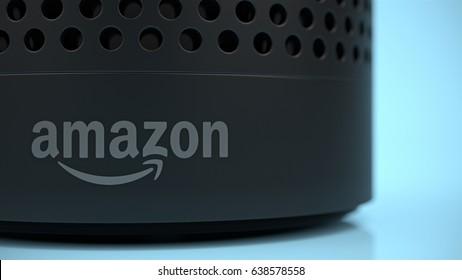 Amazon Alexa Close-Up Logo