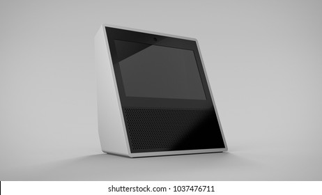 Amazon Echo Show -white -hero