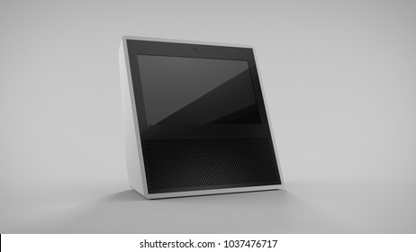 Amazon Echo Show -white -total -front 30° -centered