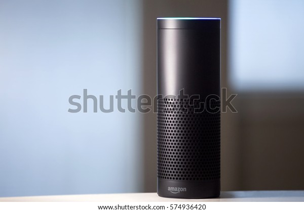 Amazon Echo voice activated recognition system
