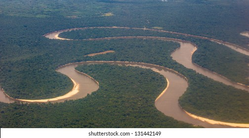 Amazon of Peru, from the air