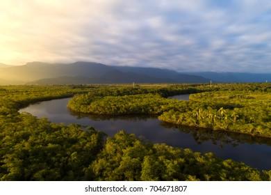 Selva amazónica en Brasil