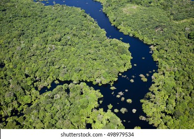 amazon river aerial photography