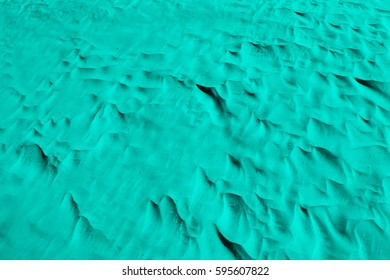Amazonite color. Desert. Wallpaper, Background and Texture