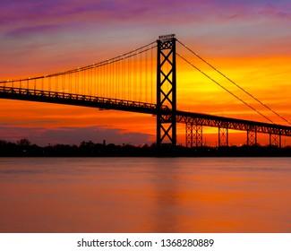 Ambassador Bridge Detroit