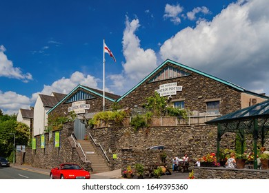 Ambelside, JUL 14: Exterior view of The World of Beatrix Potter Attraction on JUL 14, 2011 at Ambelside, United Kingdom