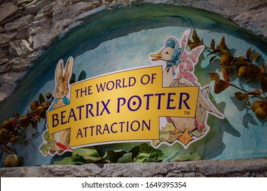 Ambelside, JUL 14: Interior view of The World of Beatrix Potter Attraction on JUL 14, 2011 at Ambelside, United Kingdom