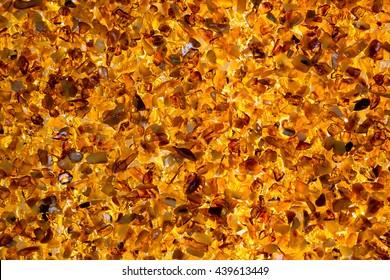 Amber crumbs