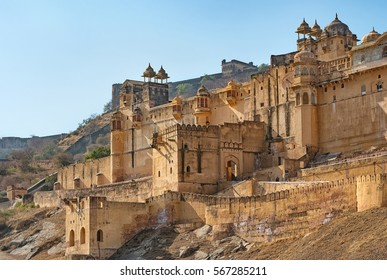 Amber fort (Amer fort) in Jaipur - India