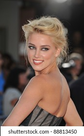 """Amber Heard at the Los Angeles premiere of """"Public Enemies"""" at Mann Village Theatre, Westwood. June 23, 2009  Los Angeles, CA Picture: Paul Smith / Featureflash"""