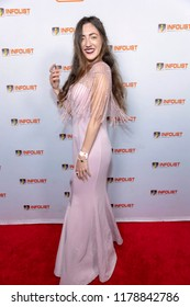 Amber Martinez attends INFOLIST PRE-EMMYS SOIREE  at Skybar at the Mondrian Hotel, West Hollywood, California on September 12th, 2018