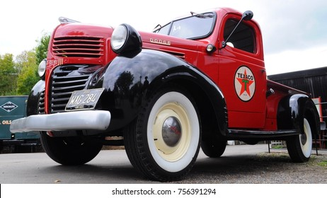 old dodge truck images, stock photos \u0026 vectors shutterstockamberley, uk 10 08 17 1946 dodge wc5 at 2017 autumn