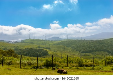 The Ambewela Aitken Spence Wind Farm is small wind farm in Ambewela