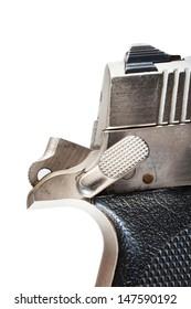 Ambidextrous safety and hammer on a semi automatic handgun