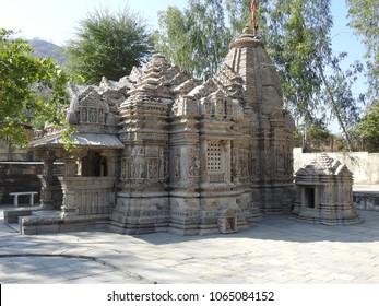 Ambika Mata Mandir, Jagat village, near Udaipur, Rajasthan, India. It was built around 10th century.