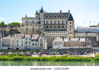Amboise castle in Loire valley, France