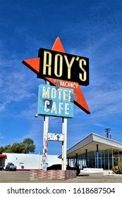 amboy,California,usa,2/9/2013, roys resturant and motel on route66
