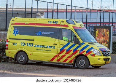 Ambulance At Amsterdam The Netherlands 2019