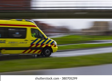 Ambulance in The Netherlands