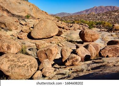 Ameib Rhino Sanctuary, Erongo. Namibia