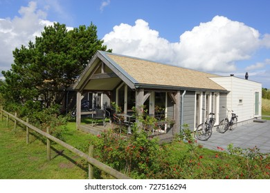 AMELAND, DUTCH - 1 October 2017.: Camping De Kiekduun, Buren, Holland.