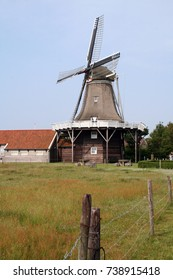 Ameland,Islland,Hollem,august 2017:Corn and mustard mill The forecast (verwachting)